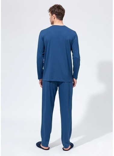 Dagi Pijama Takım İndigo